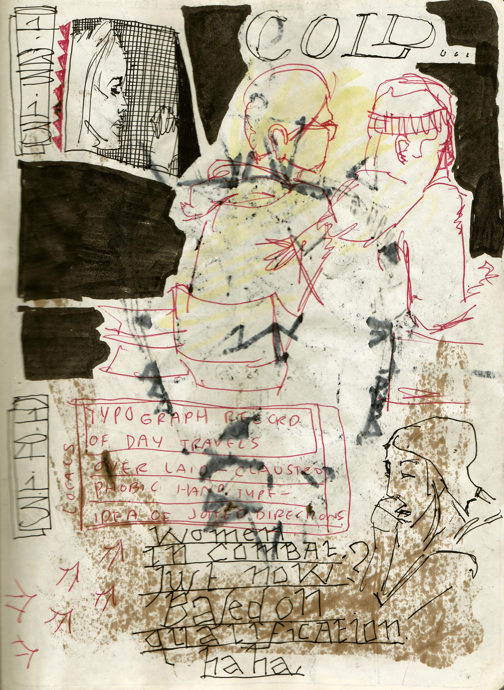 Sketchbook Journal #12: (RE)Immolation in Pagan Winter: page 107