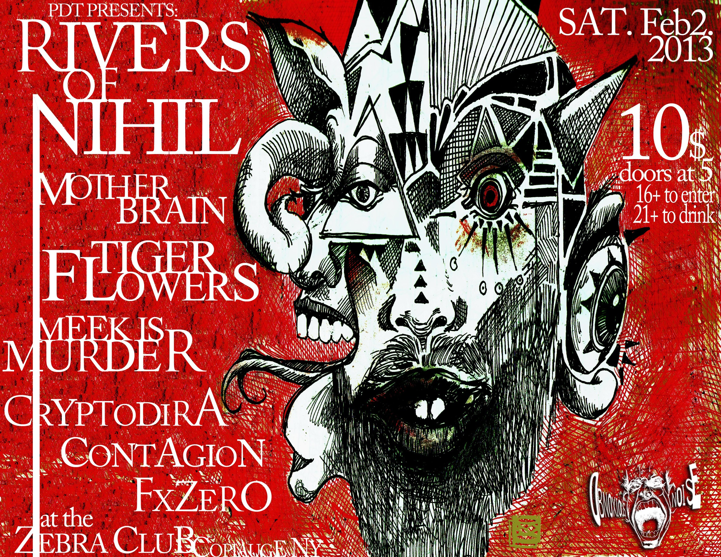 Obnoxious Noise Gigs Presents: Rivers of Nihil (Metalblade Records) +more