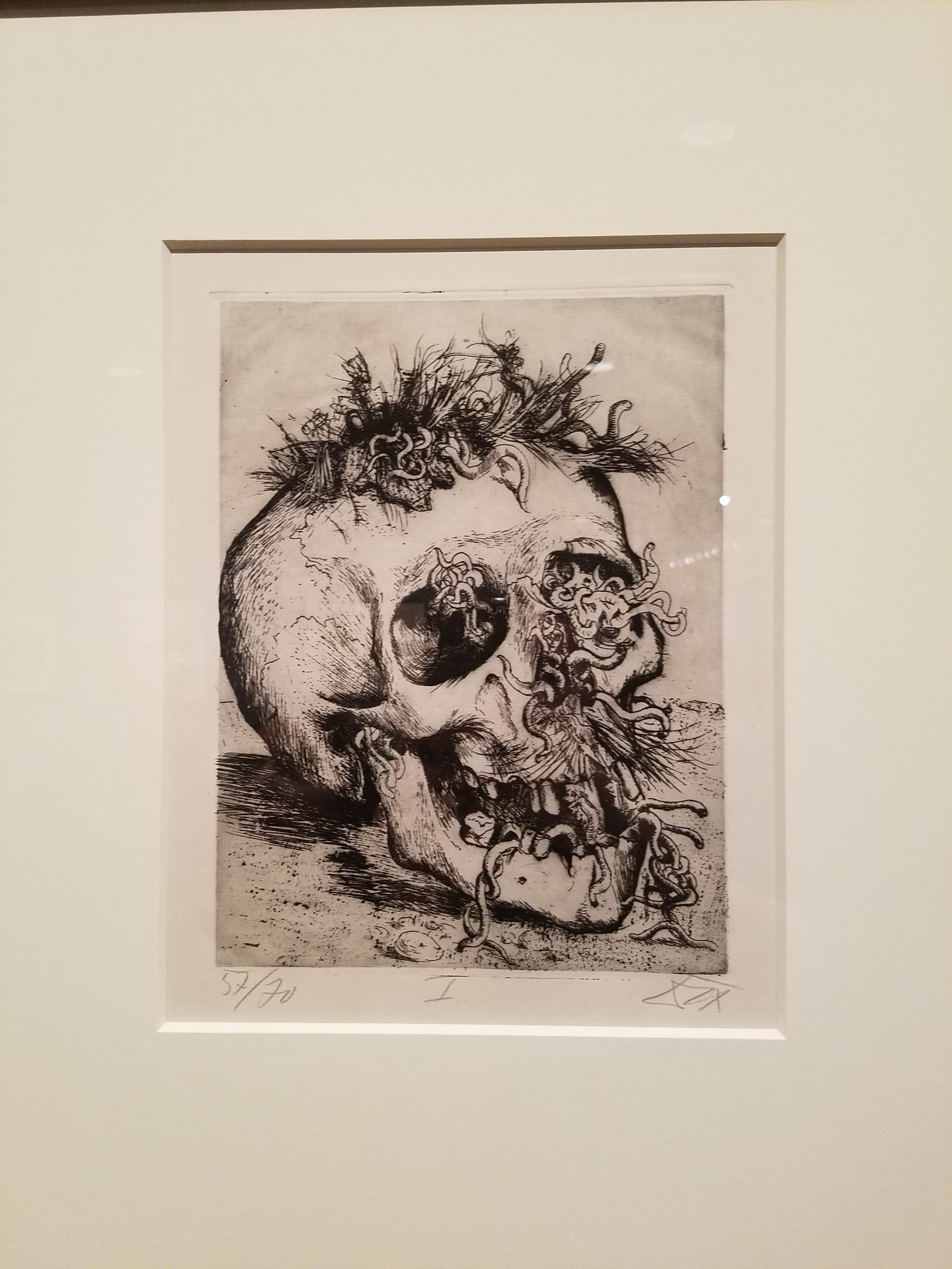 Otto Dix Print at the Metropolitan Museum of Art,