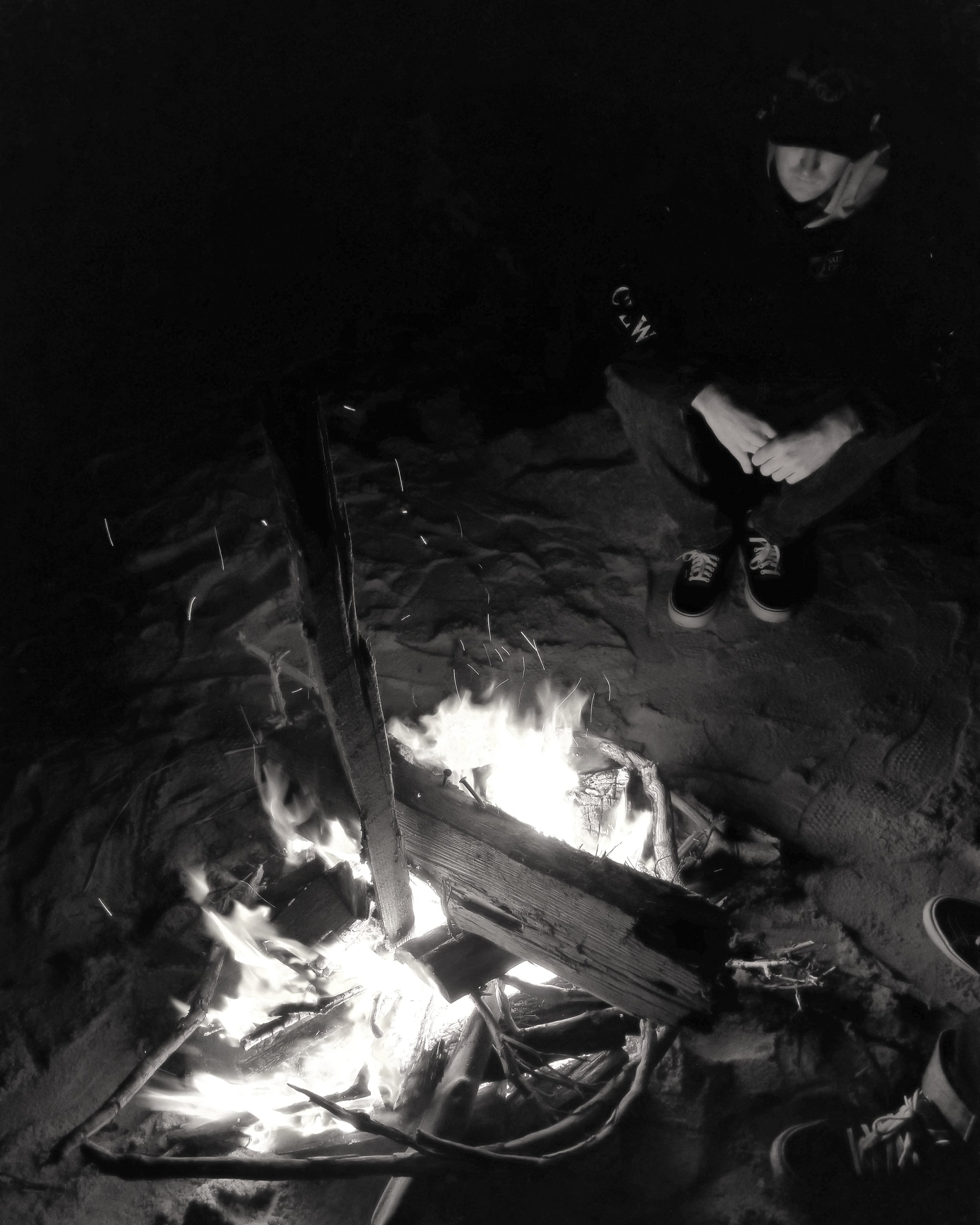 Fire with 2 of my True Druid brothers ( @druid_dude and @ny_hunt_addict on Instagram )