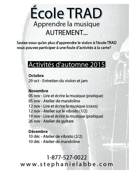 Revue Québec-Folklore, Édition Novembre-Décembre 2015, p. 9