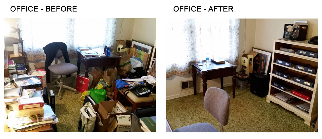 OFFICE BEFORE AND AFTER ORGANIZATION