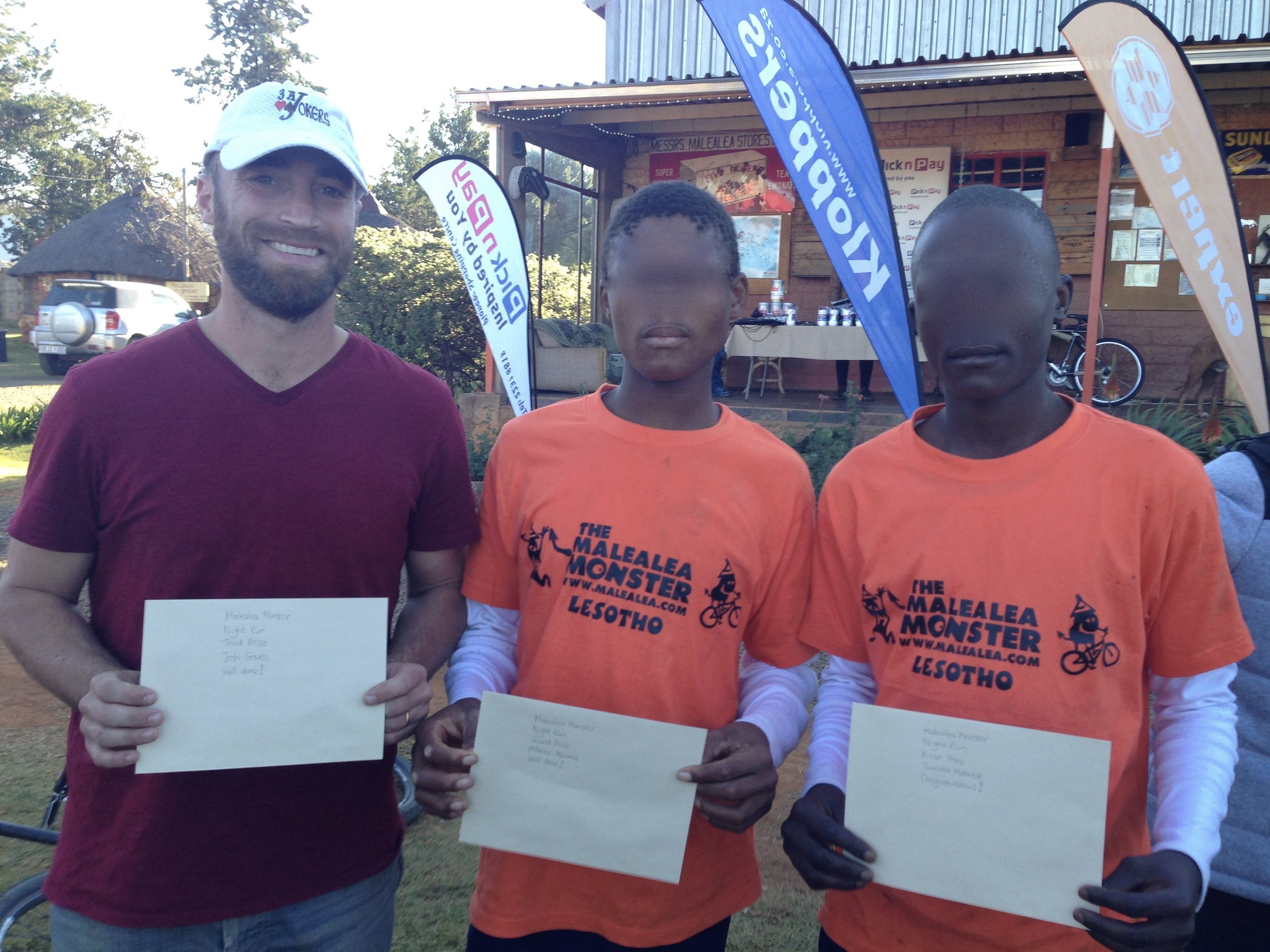 Podium Finish - Sepheo took out 1, 2 and 3 in the night trail run event