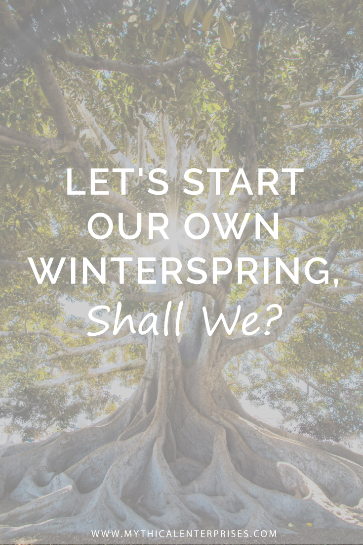 Yes, Mother Nature, we're doing this without your consent.