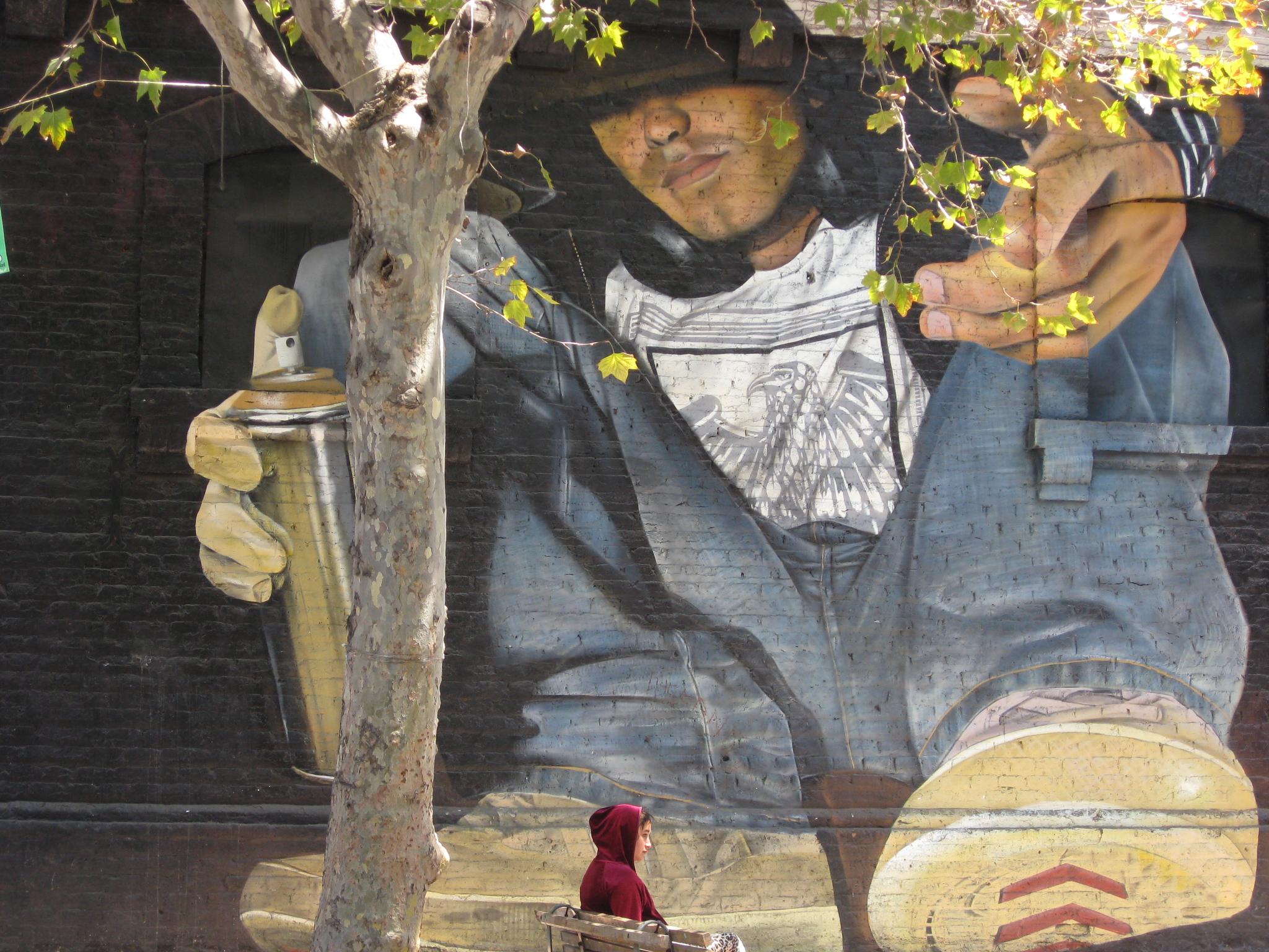 Street art in Barrio Bellavista
