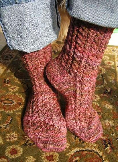 Dogwood (socks)