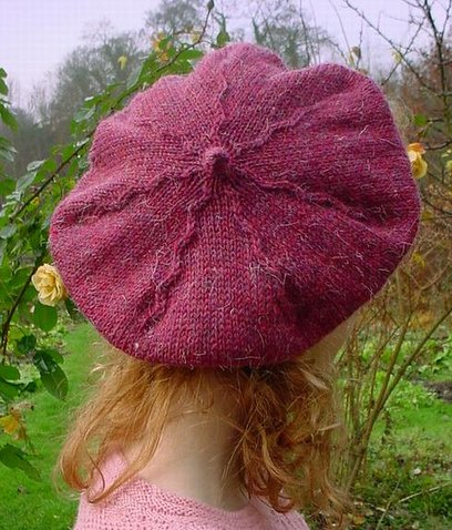 """Trellis Hat"" By Courtney Kelley"