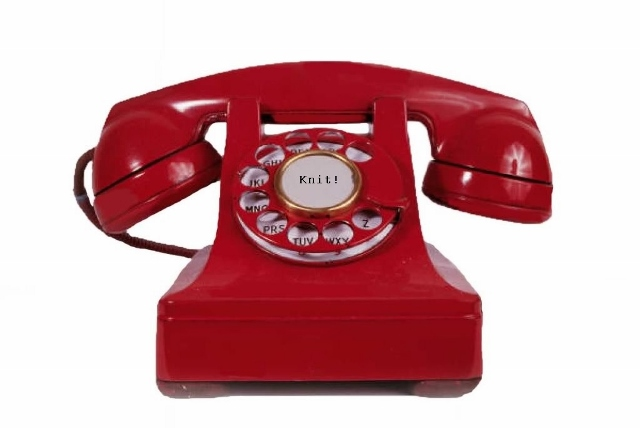 The Official Big Red Knitting Emergency Phone