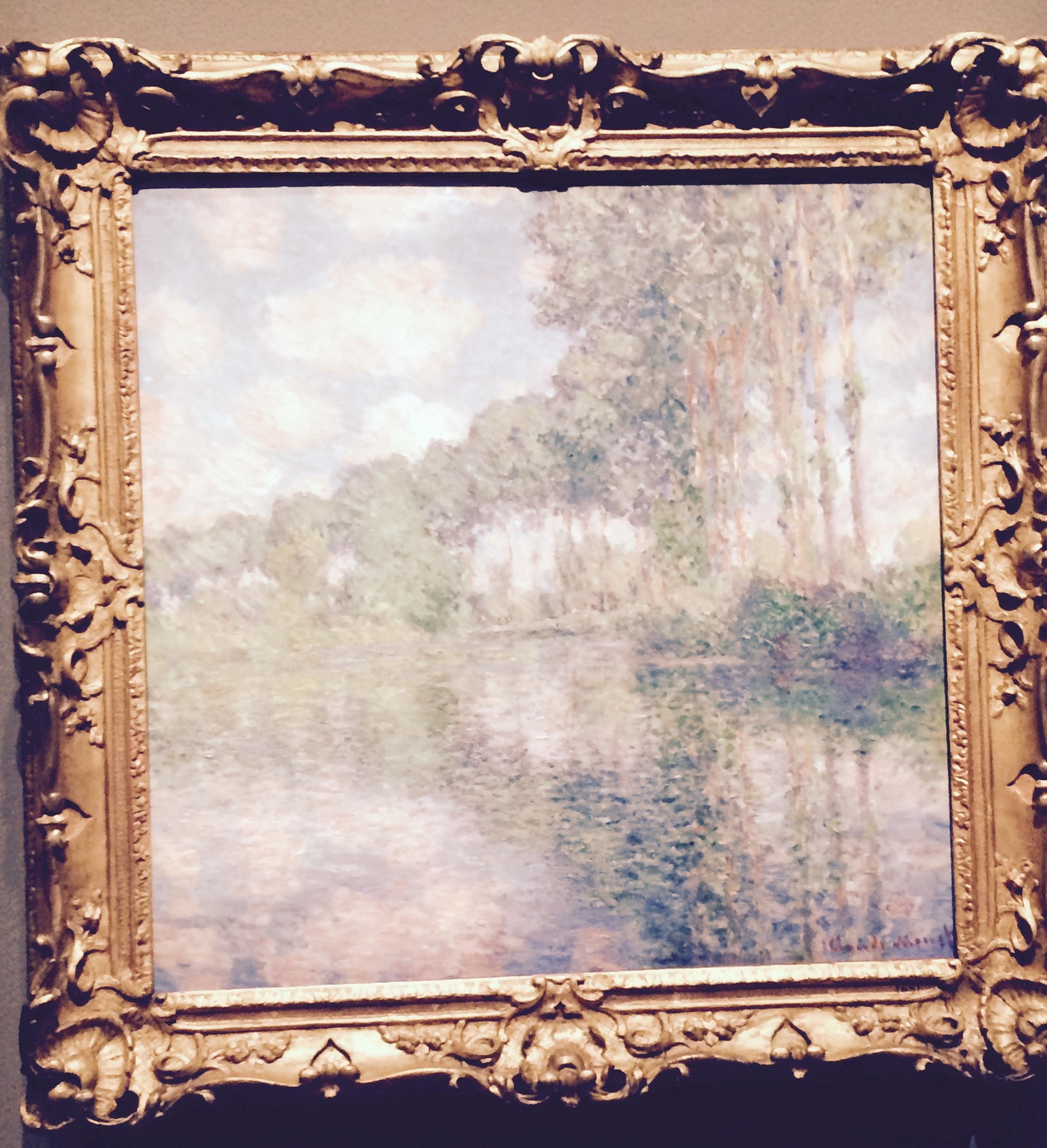Monet, Poplars on the Epte