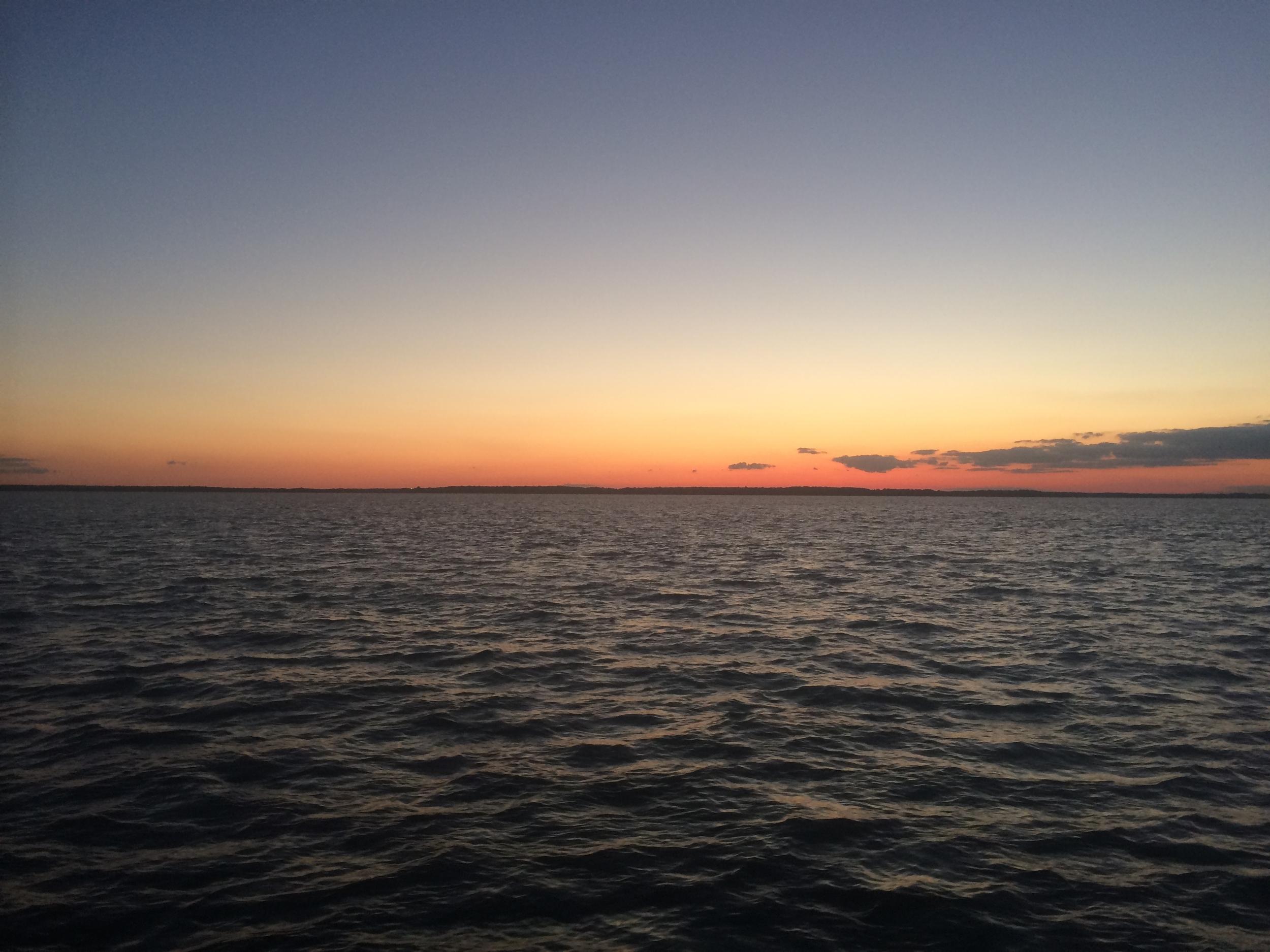 Sunset, my last day on fezywig.
