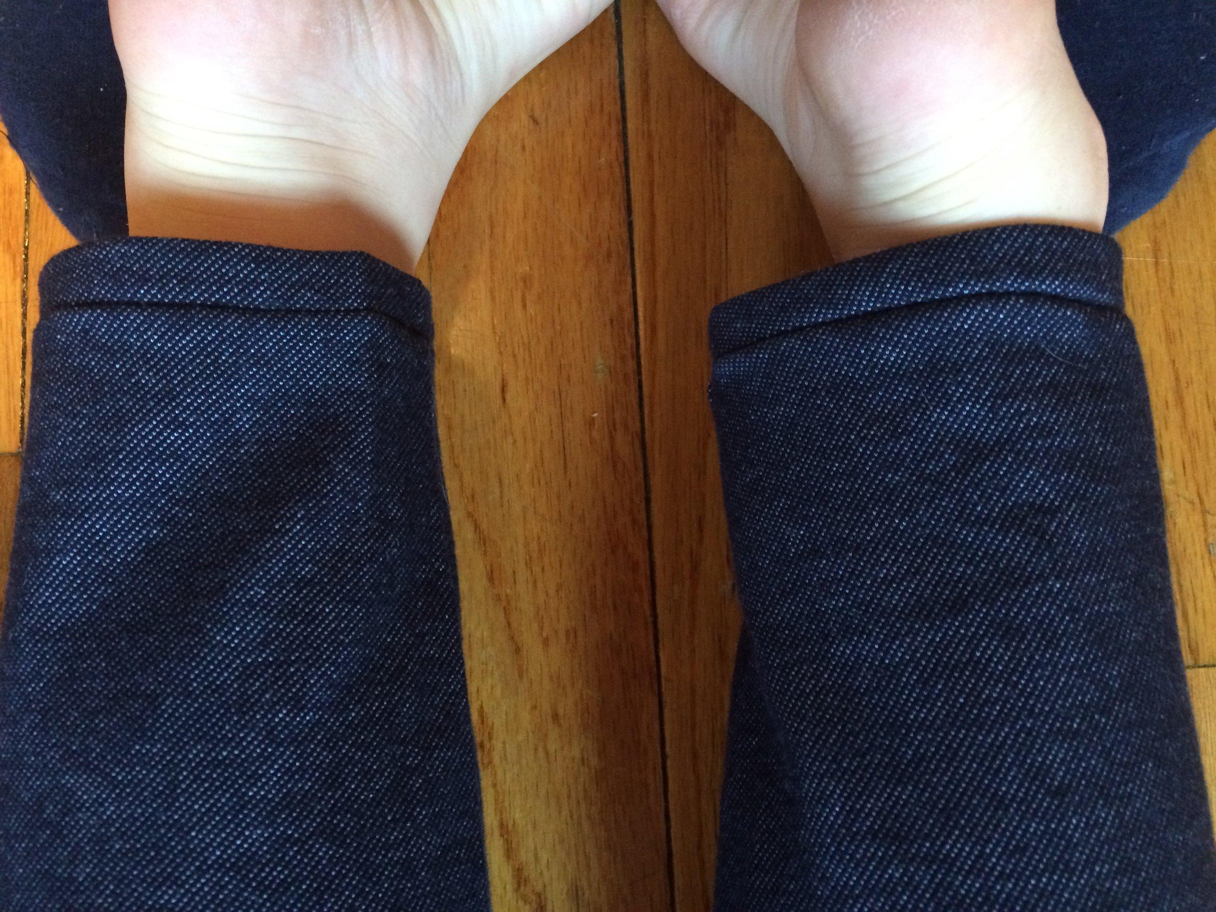 Small triumph - pants that don't puddle