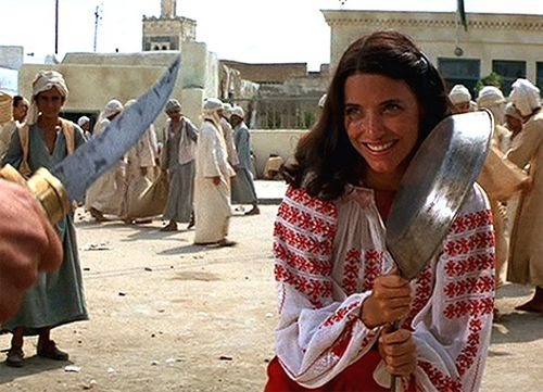 Marion can handle herself, Indiana Jones: Raiders of the Lost Ark
