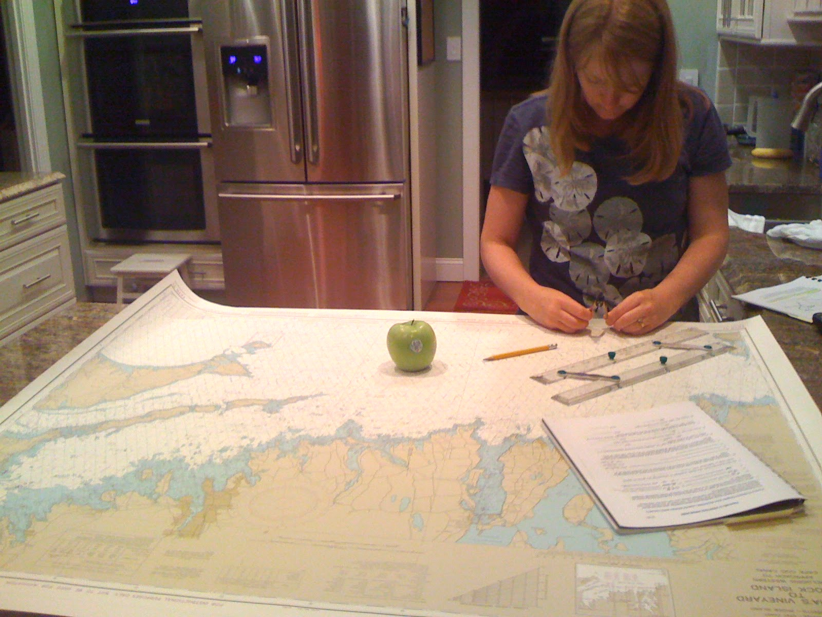 Learning to navigate on paper.