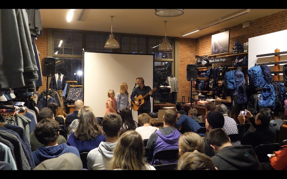 SEVEN AT SEA  LAUNCH EVENT AT UWS PATAGONIA NYC