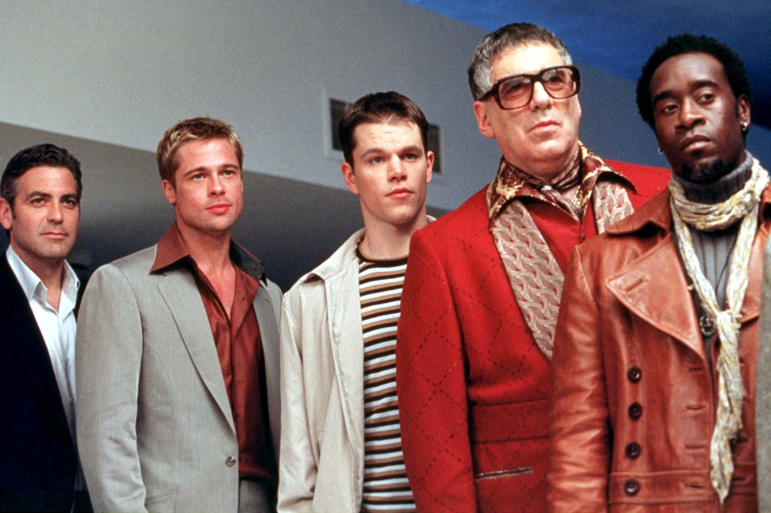 The Ocean's Eleven team. Matt Damon, I'm looking at you.