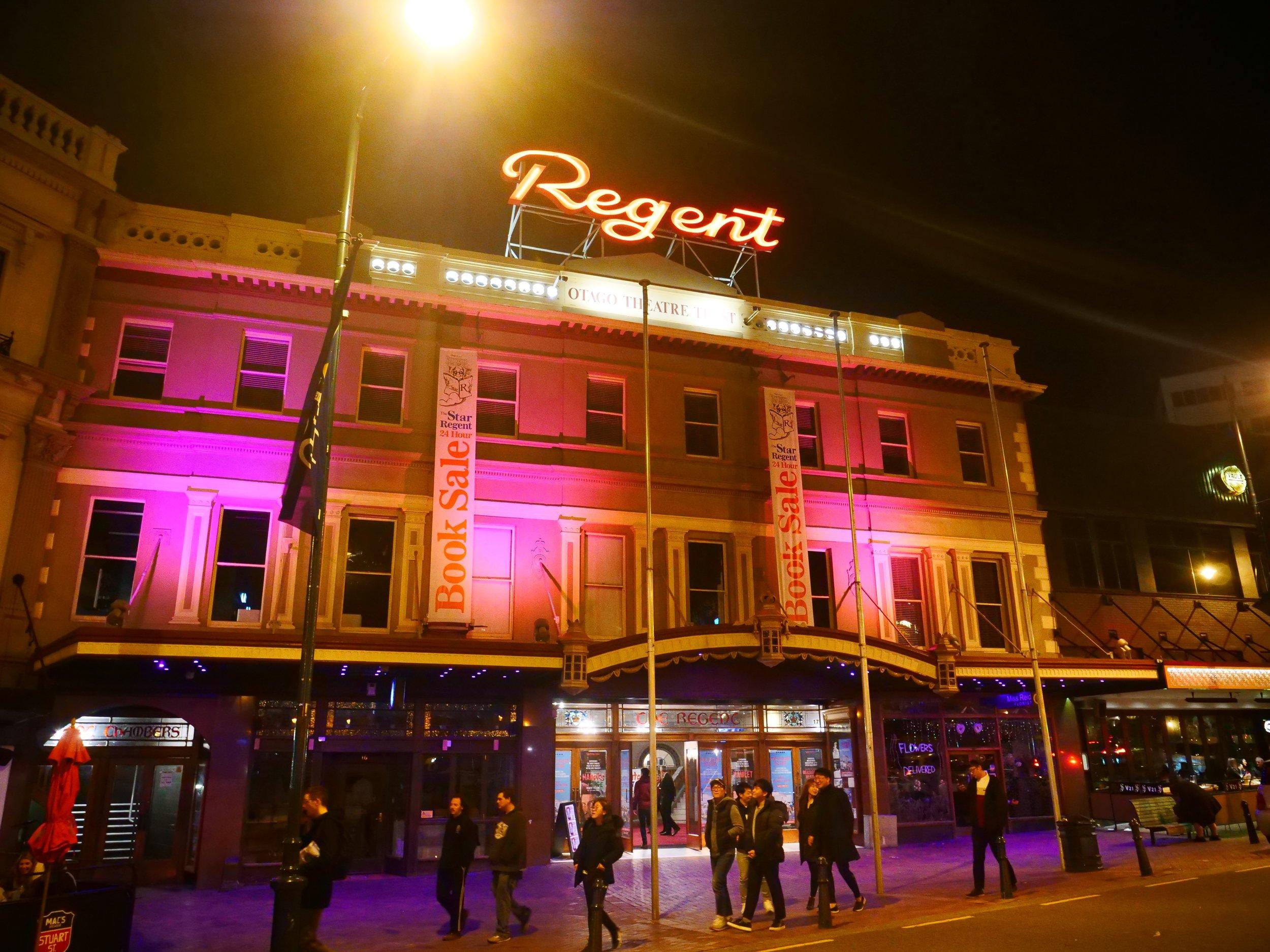 The Regent Theatre, Dunedin.