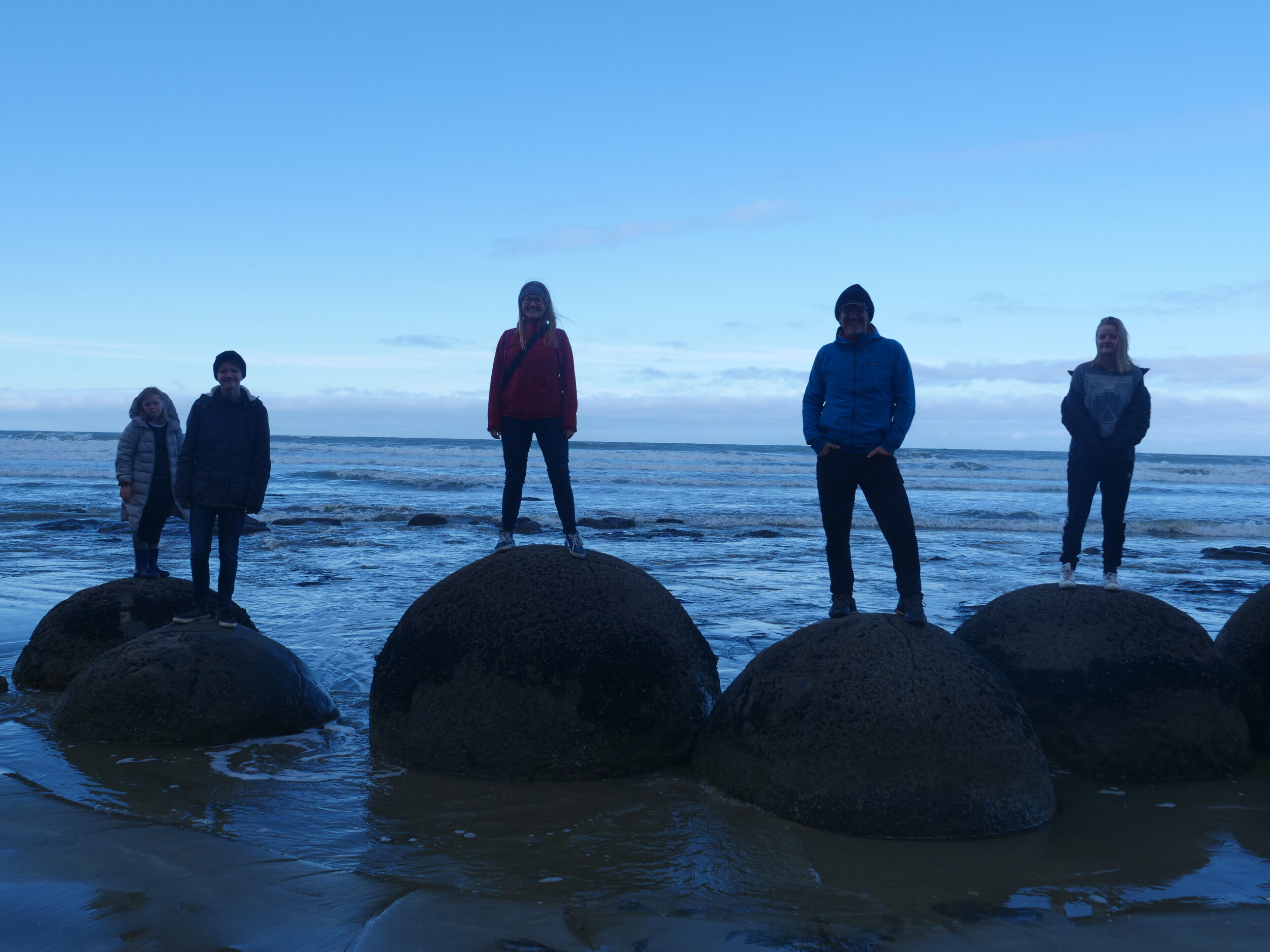 Moeraki Boulders, fascinating and mysterious, like us : )
