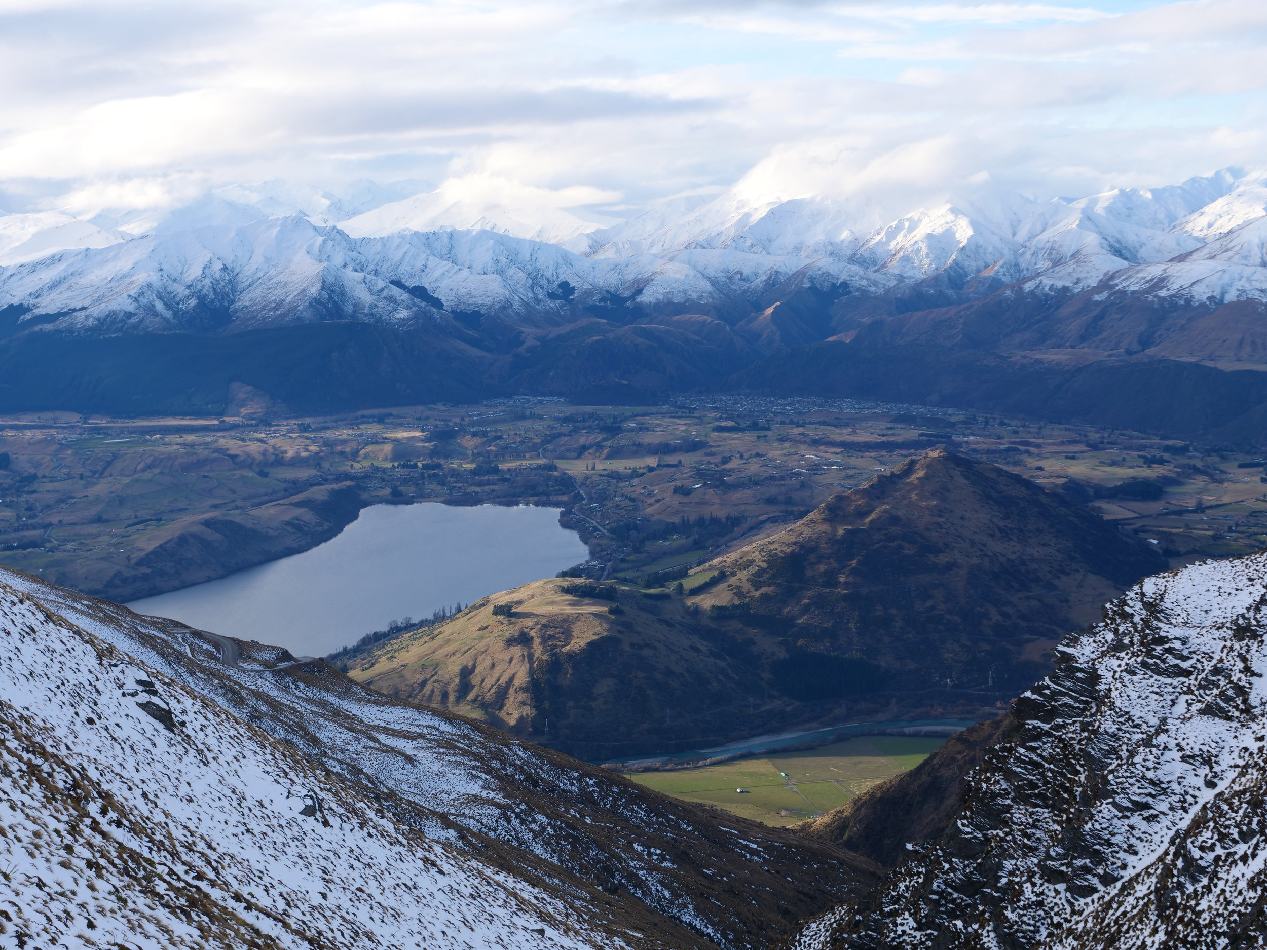 Overlooking Queenstown from The Remarkables