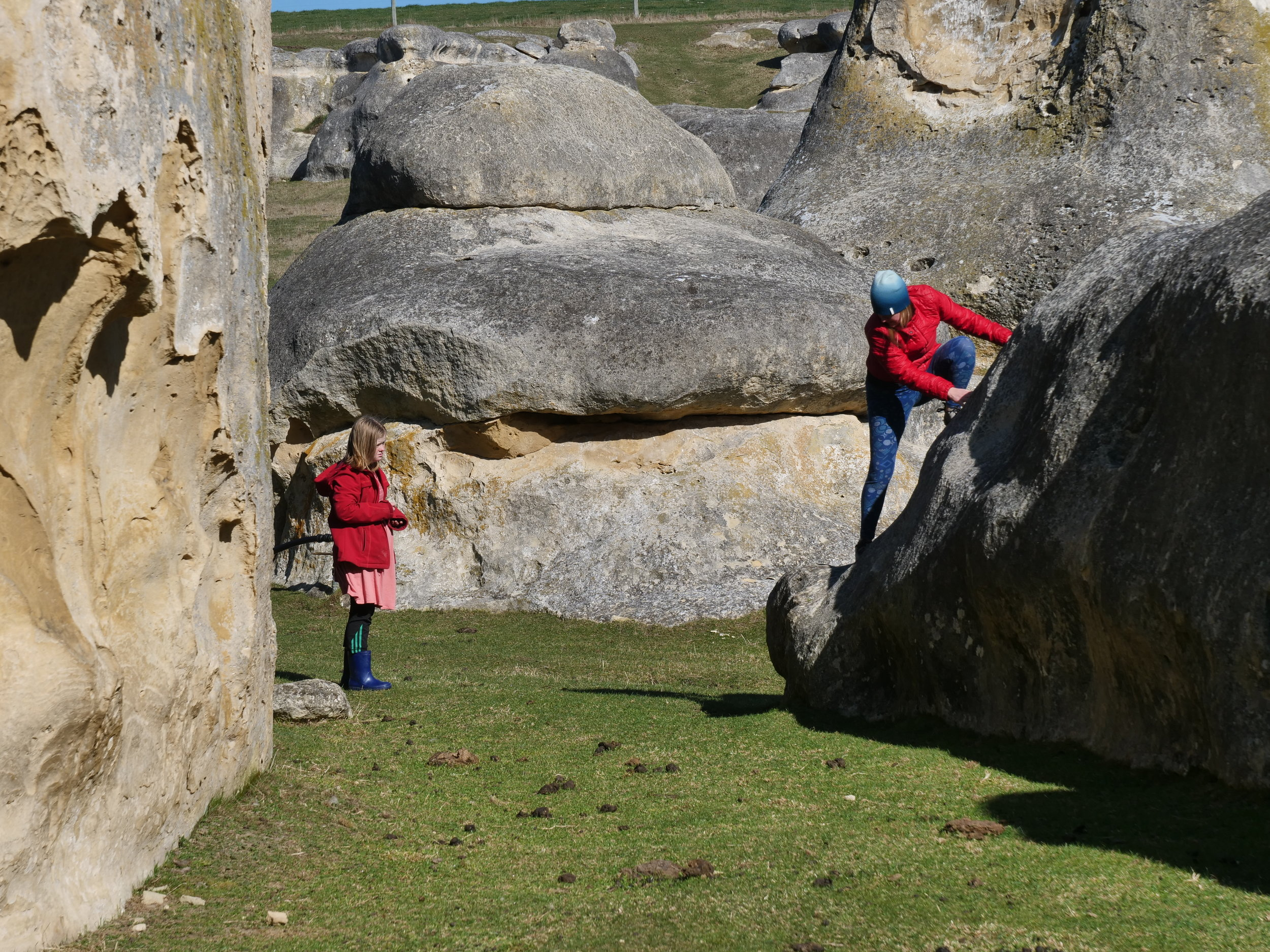 Bouldering in Elephant Rocks