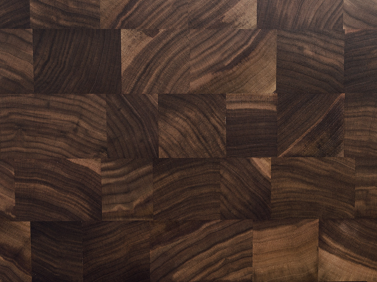 END grain construction (walnut)