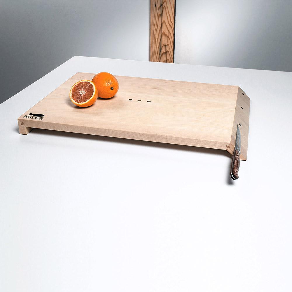 Planche en bois magnétique