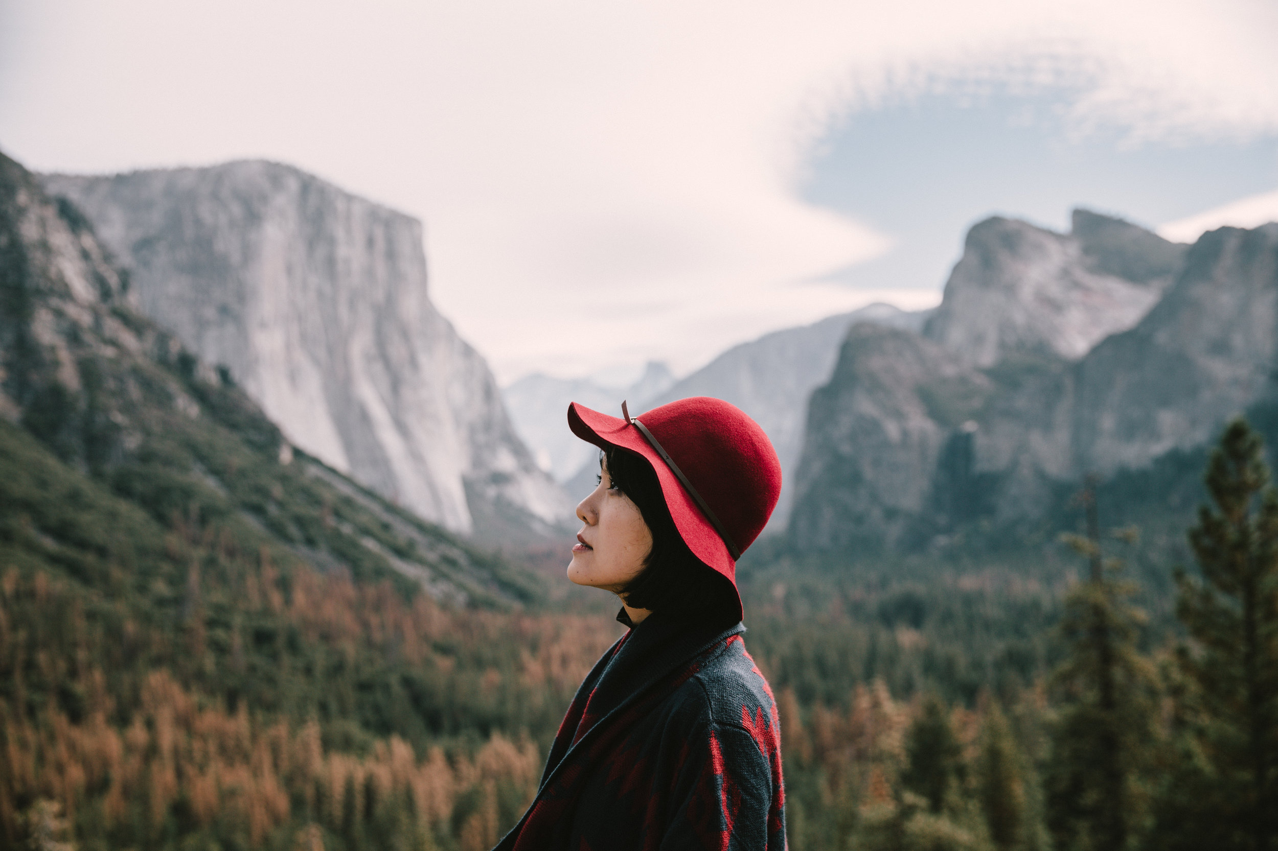 Tunnel View Portraits with Jihye