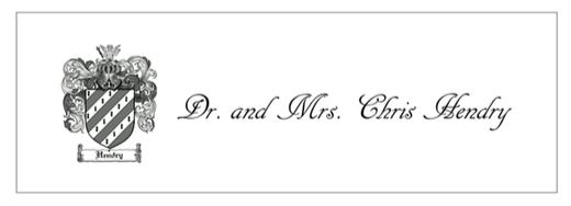 Dr. and Mrs. Chris Hendry