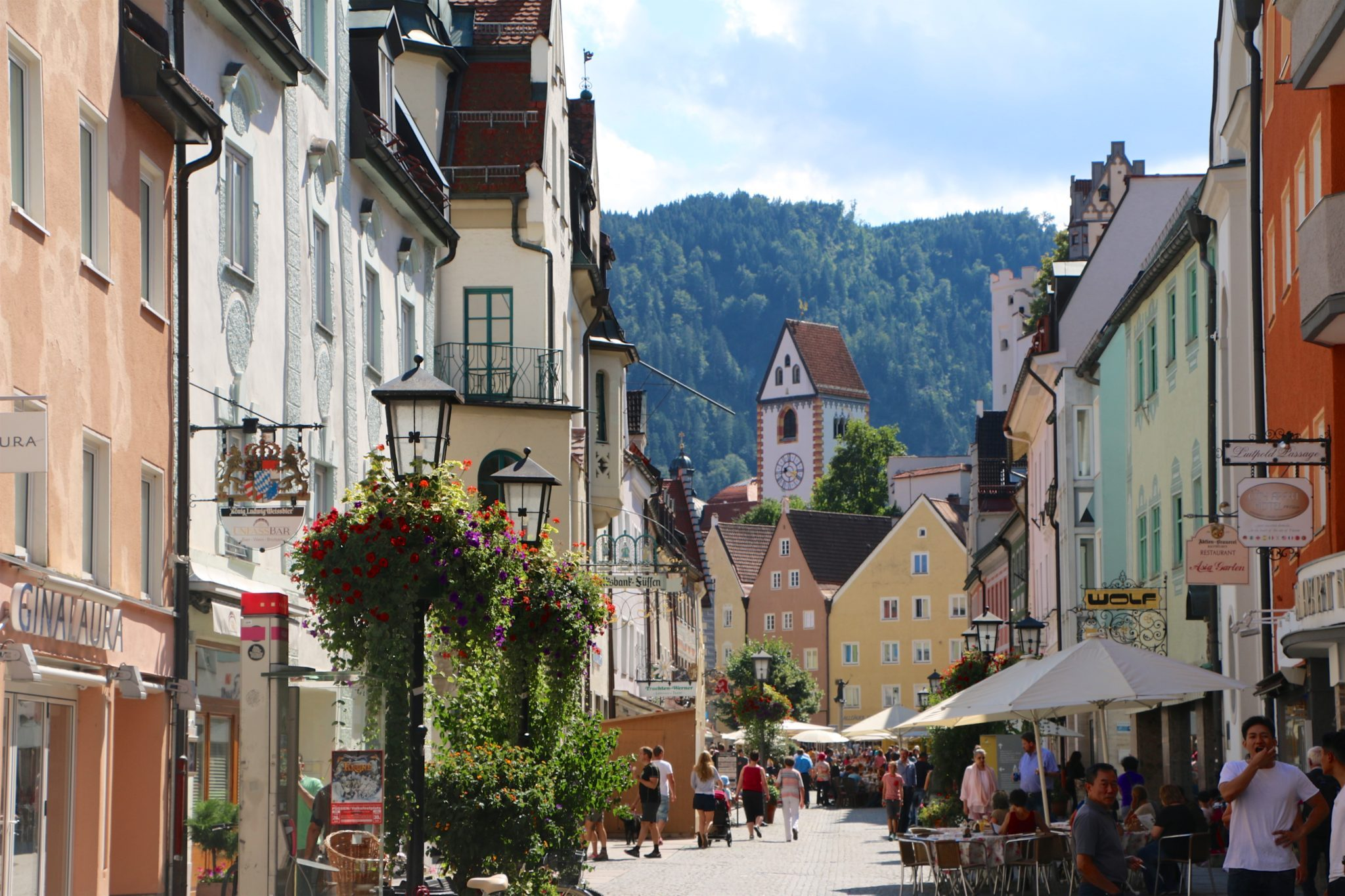 Pleinair destination Fussen, Bavaria