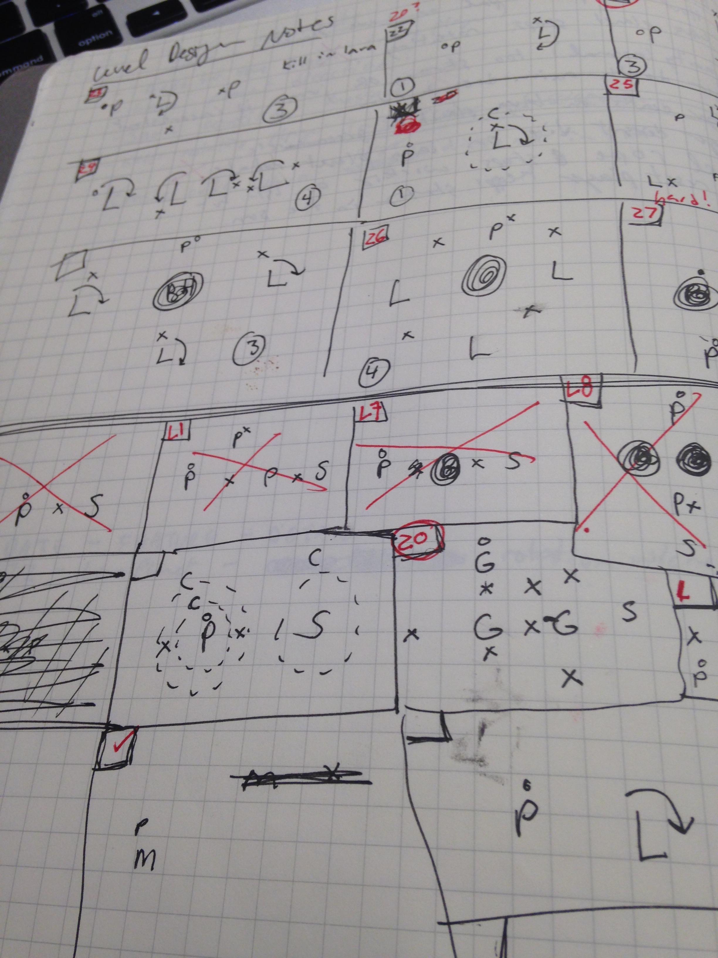 Level Sketches
