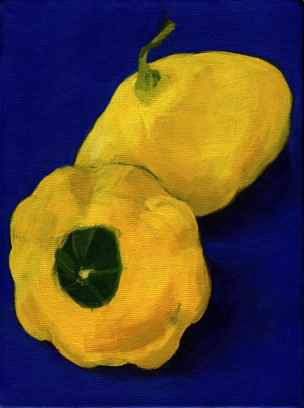 Patty Pan Squash Duet