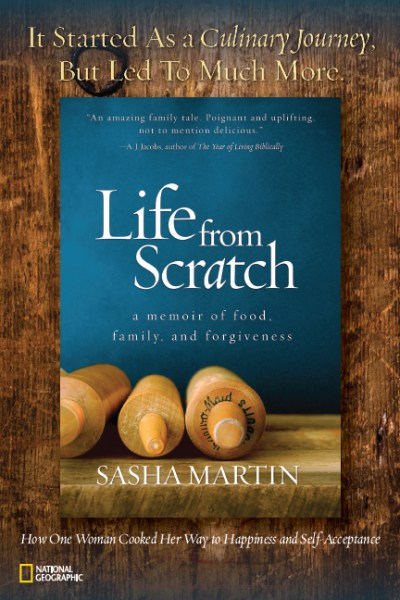 Life from Scratch: A Memoir of Food, Family, and Forgiveness by Sasha Maratin