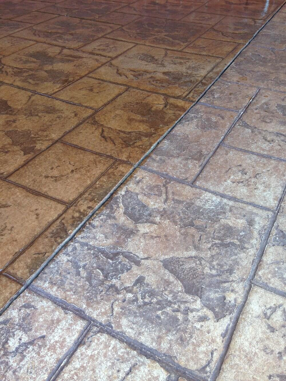 Newcrete Resealers Gallery - During Concrete Tiles Resealing.jpg