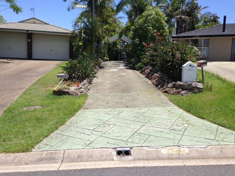 Newcrete Resealers Before Concrete Resealing Long Driveway.jpg