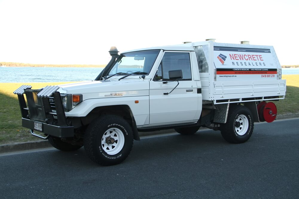 Newcrete Resealers Business Service Vehicle Sideview.jpg