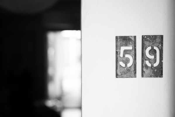 Recycled and Repurposed  # stencils   at my front door for  @ studio_sparrowh    @ DesignMuseum    # FontSunday   photo by  @ orionzg