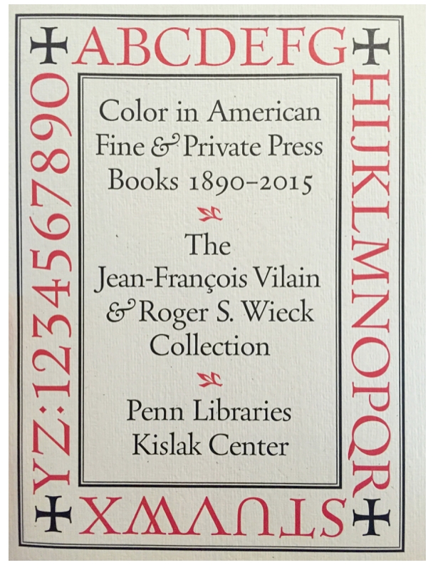 Cover of the  exhibit's  accompanying book