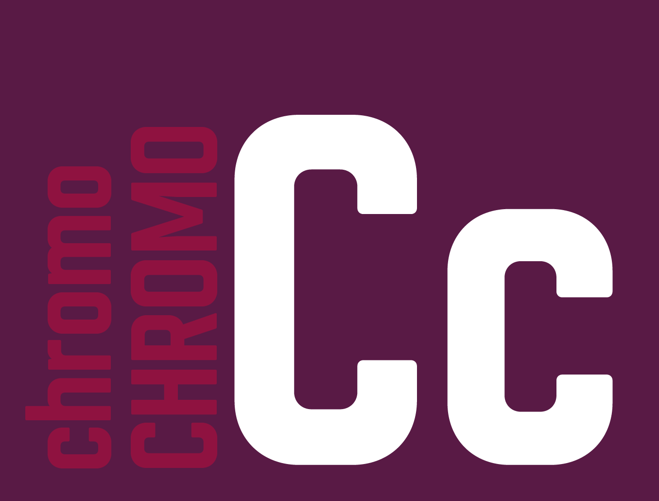 Designed by Dutch designer Thom Niessink, Chromoxome Pro is the completely redesigned version of the modular all caps typeface Chromoxome