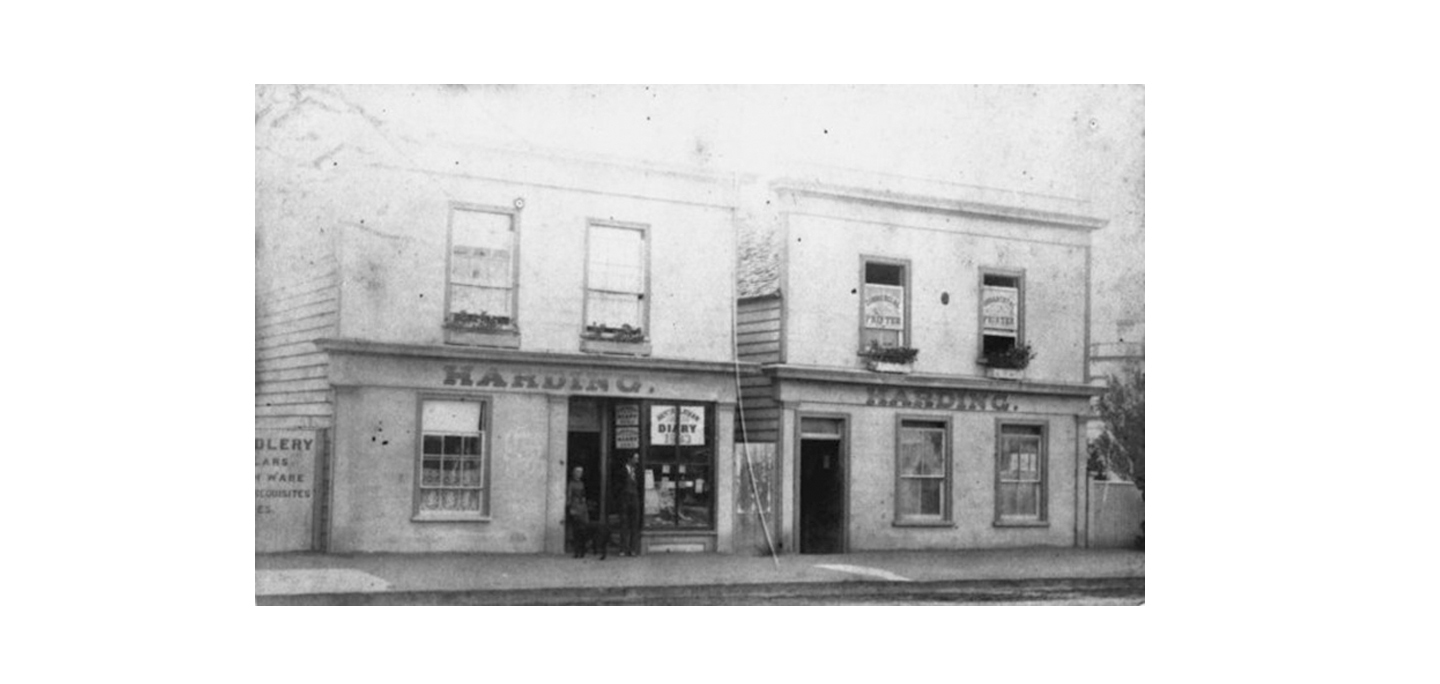 Robert Coupland Harding, began the typographic journal appropriately titled,  Typo,  in his printing premises on Hastings Street in Napier in 1887.