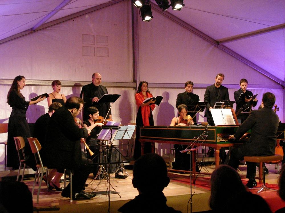 Dido and Aeneas - With La Nouvelle Ménestrandie · Conductor: Leonardo García Alarcon - Variations Musicales de Tannay 2010 (Geneva -CH)