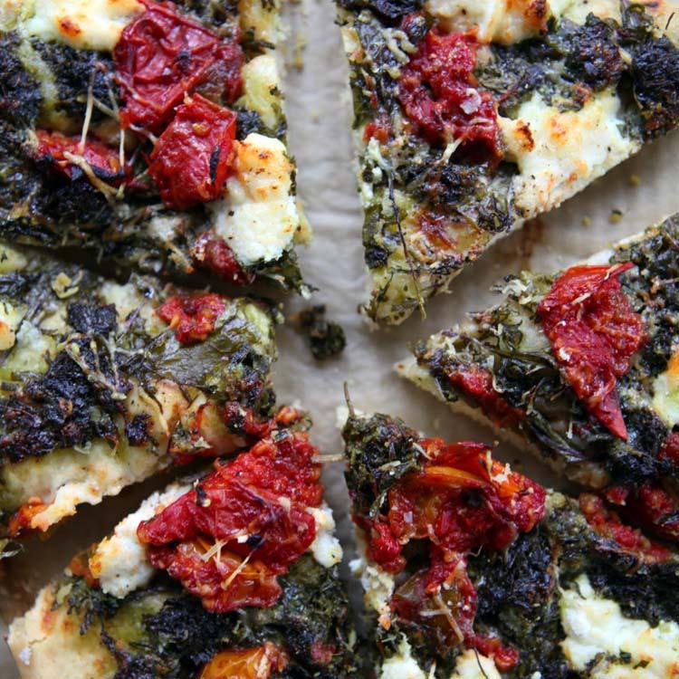 Kale Pizza