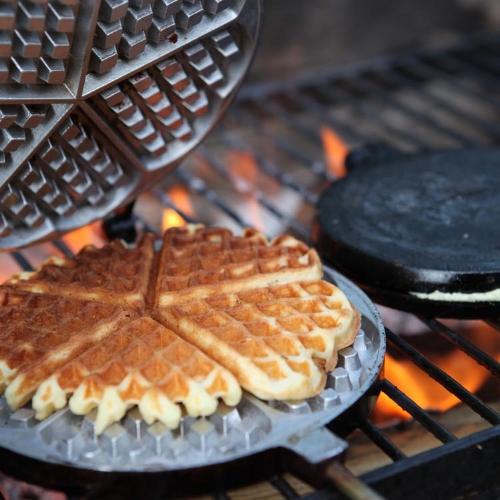 Wood Fire Waffles
