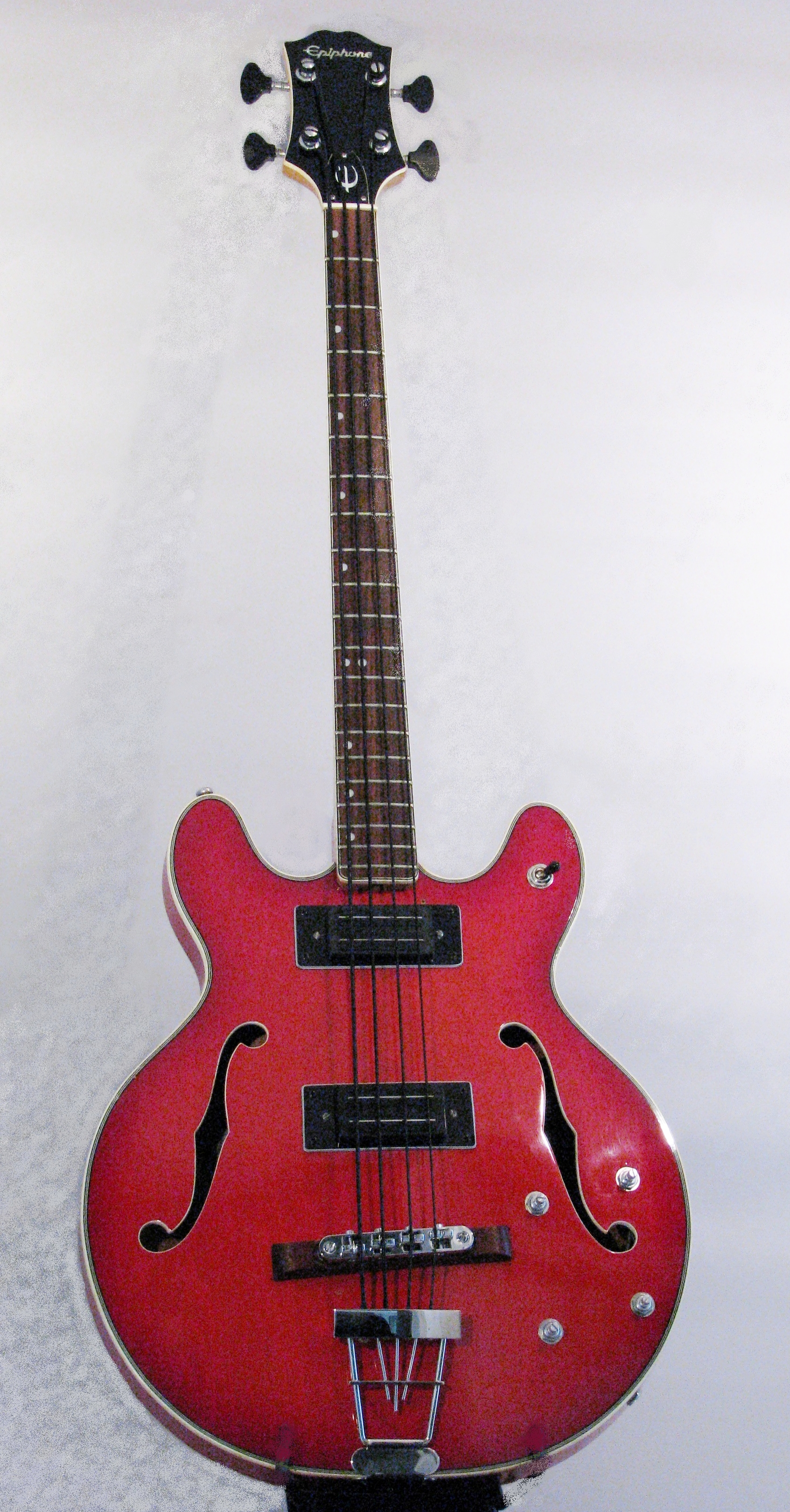 Restored 70's Epiphone Bass