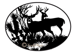 Bucks in Drybrush-A-121