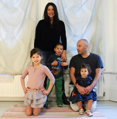 Three children, or four? - My wonderful family.