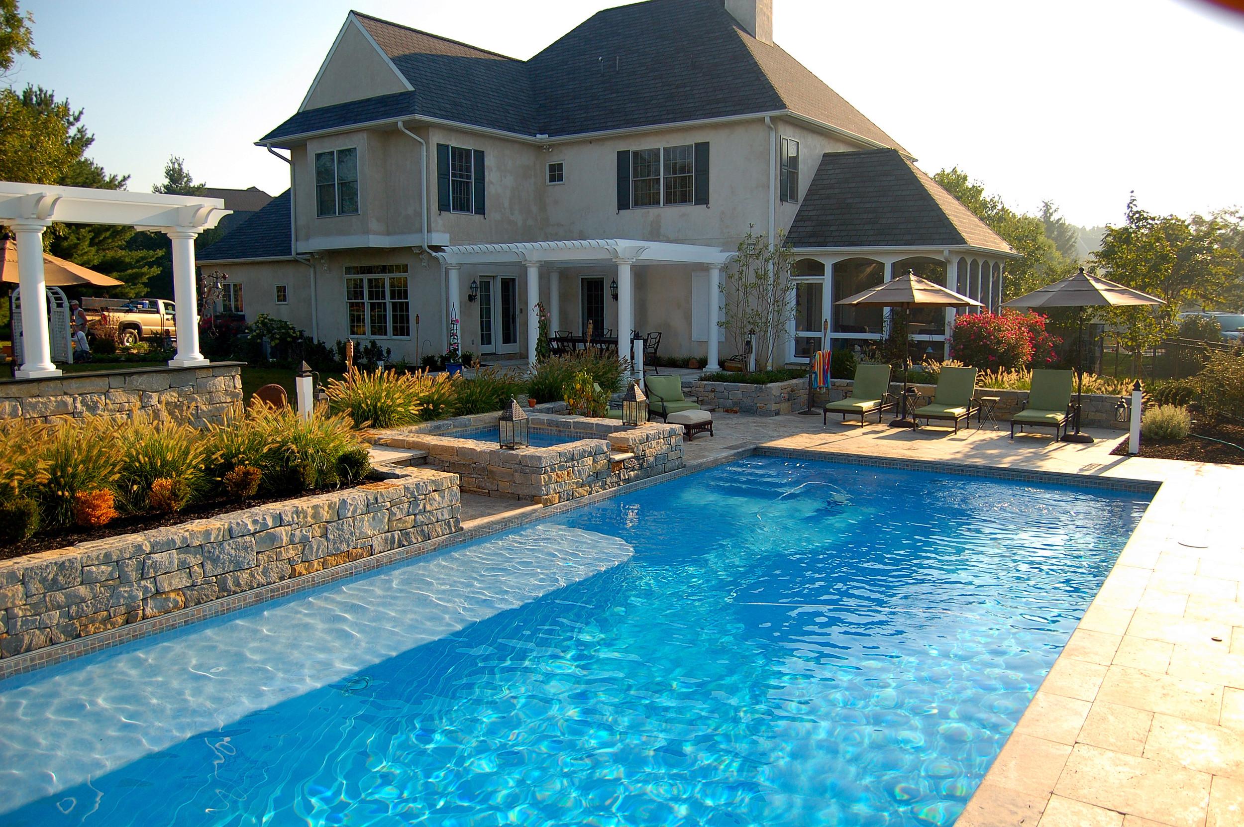 Landscape Design and Pool Lancaster, PA