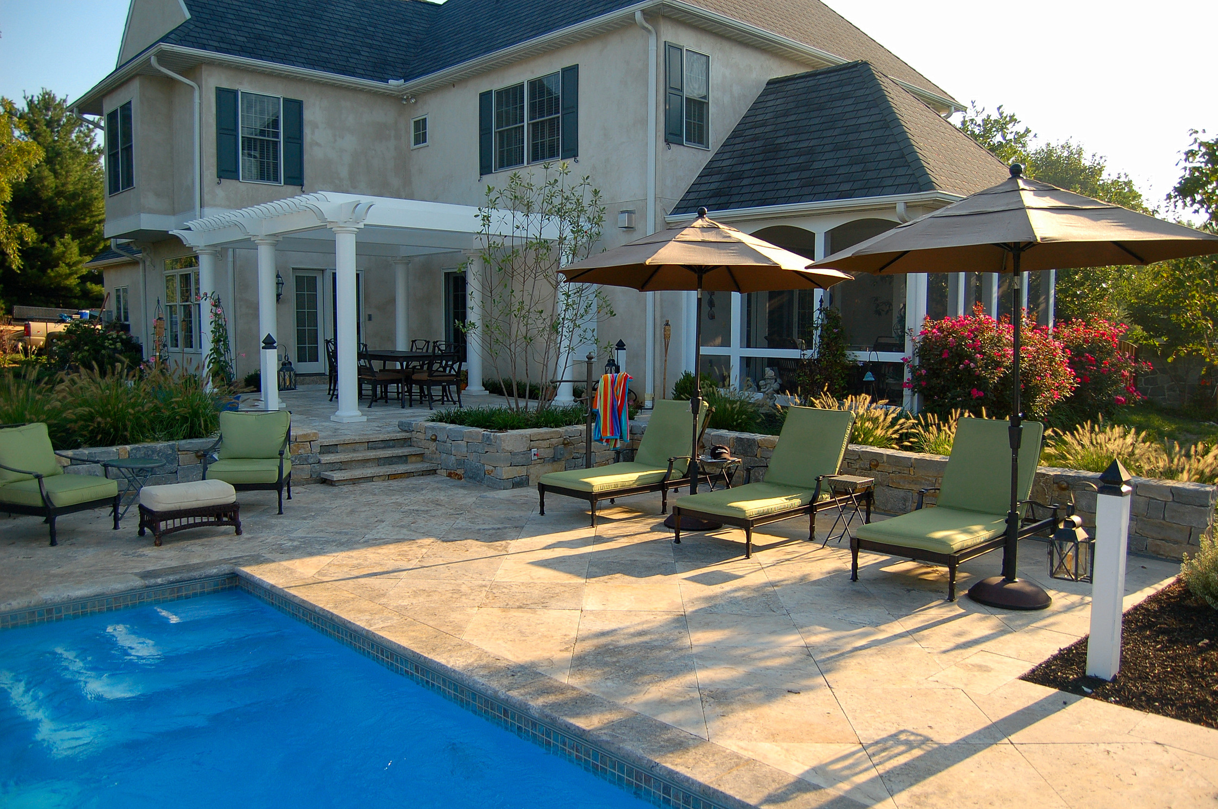 Landscape Design and Swimming Pool Lancaster, PA