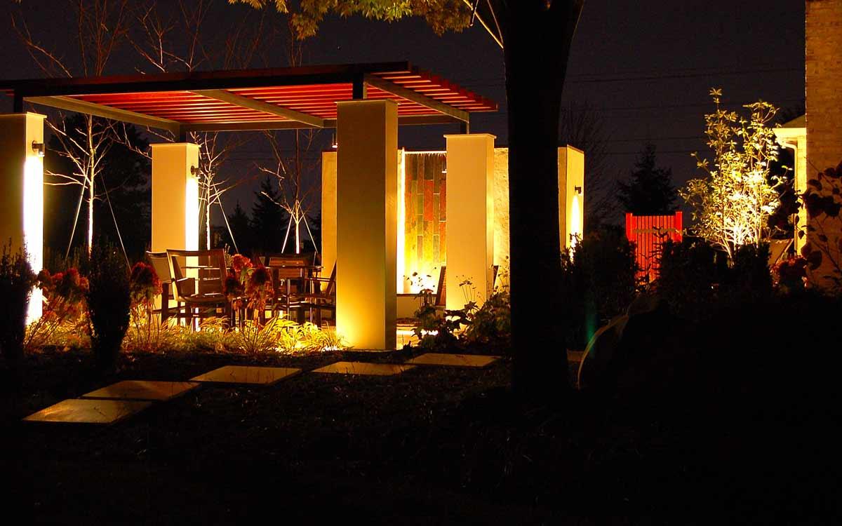 York, PA backyard outdoor living space