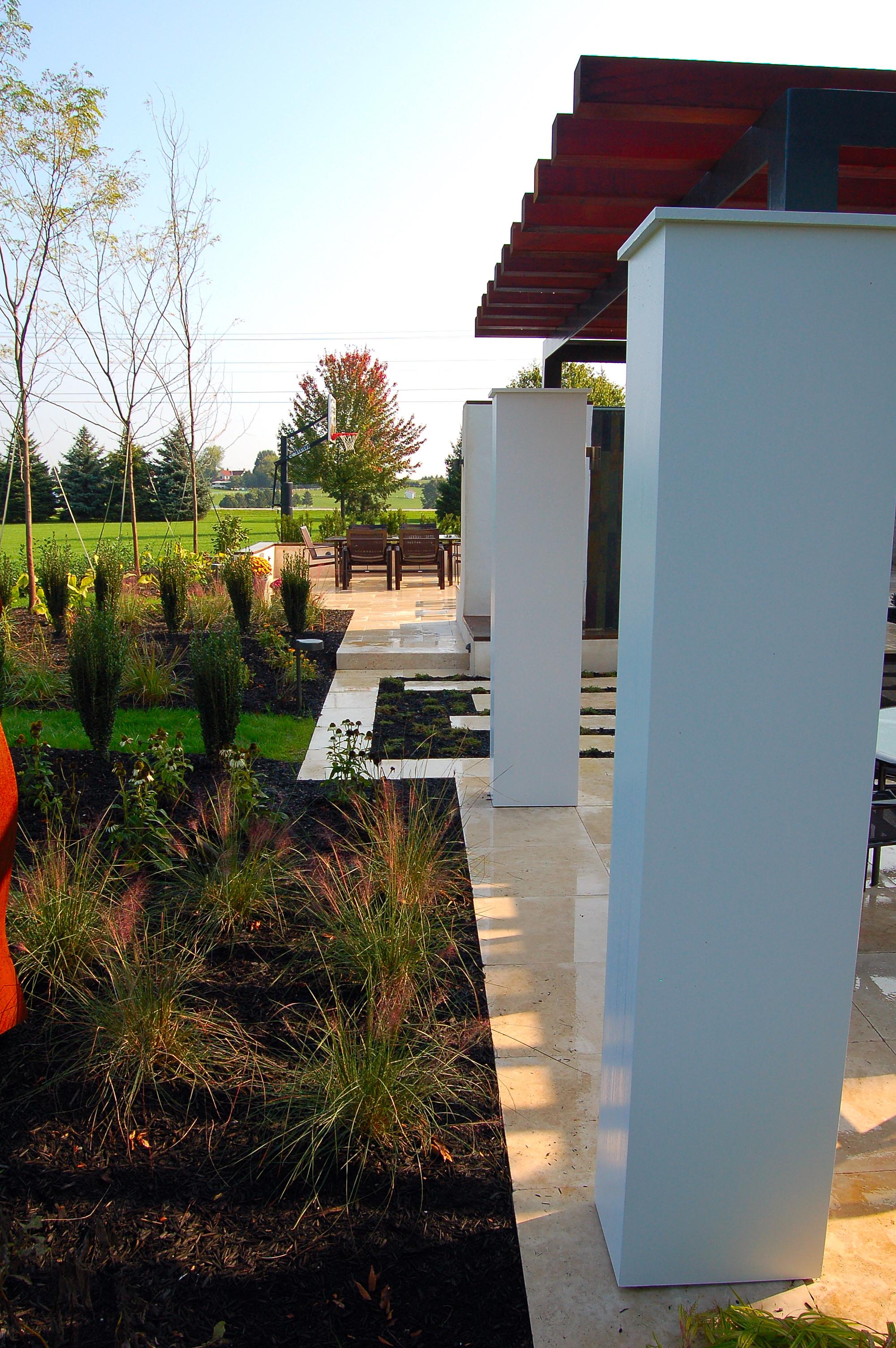 Garden design and pergola in York, PA