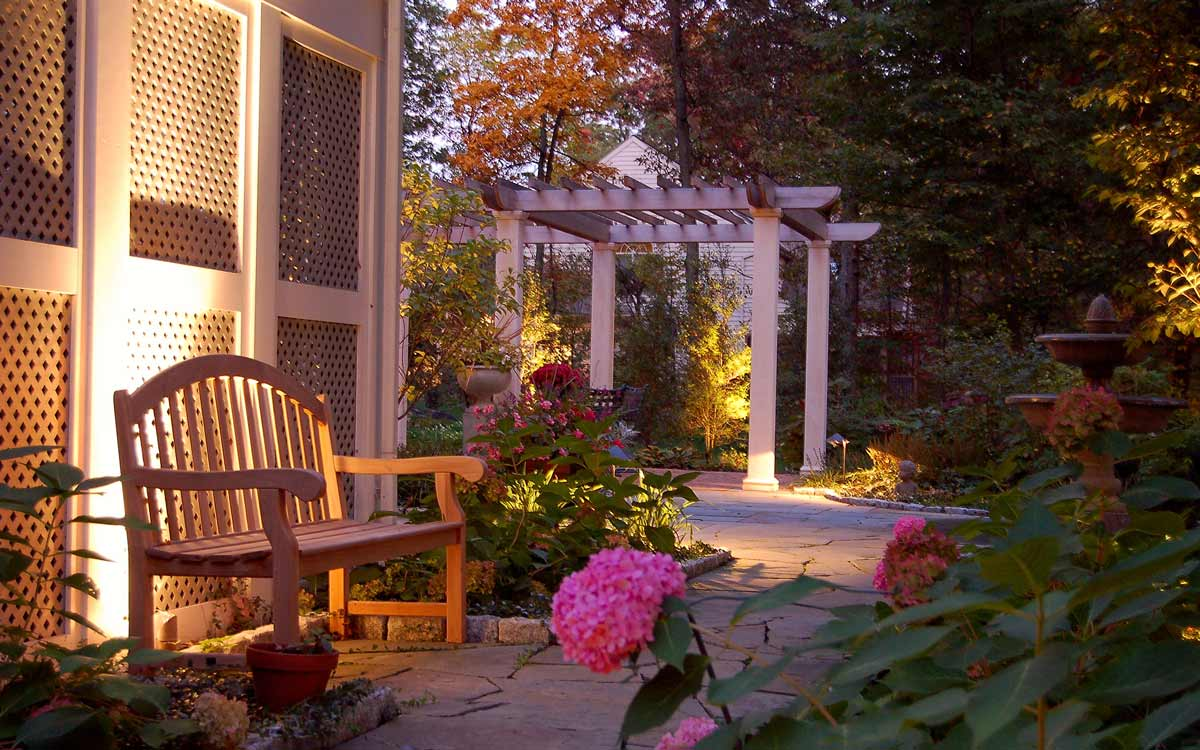 Naturalistic garden design in Hershey, PA