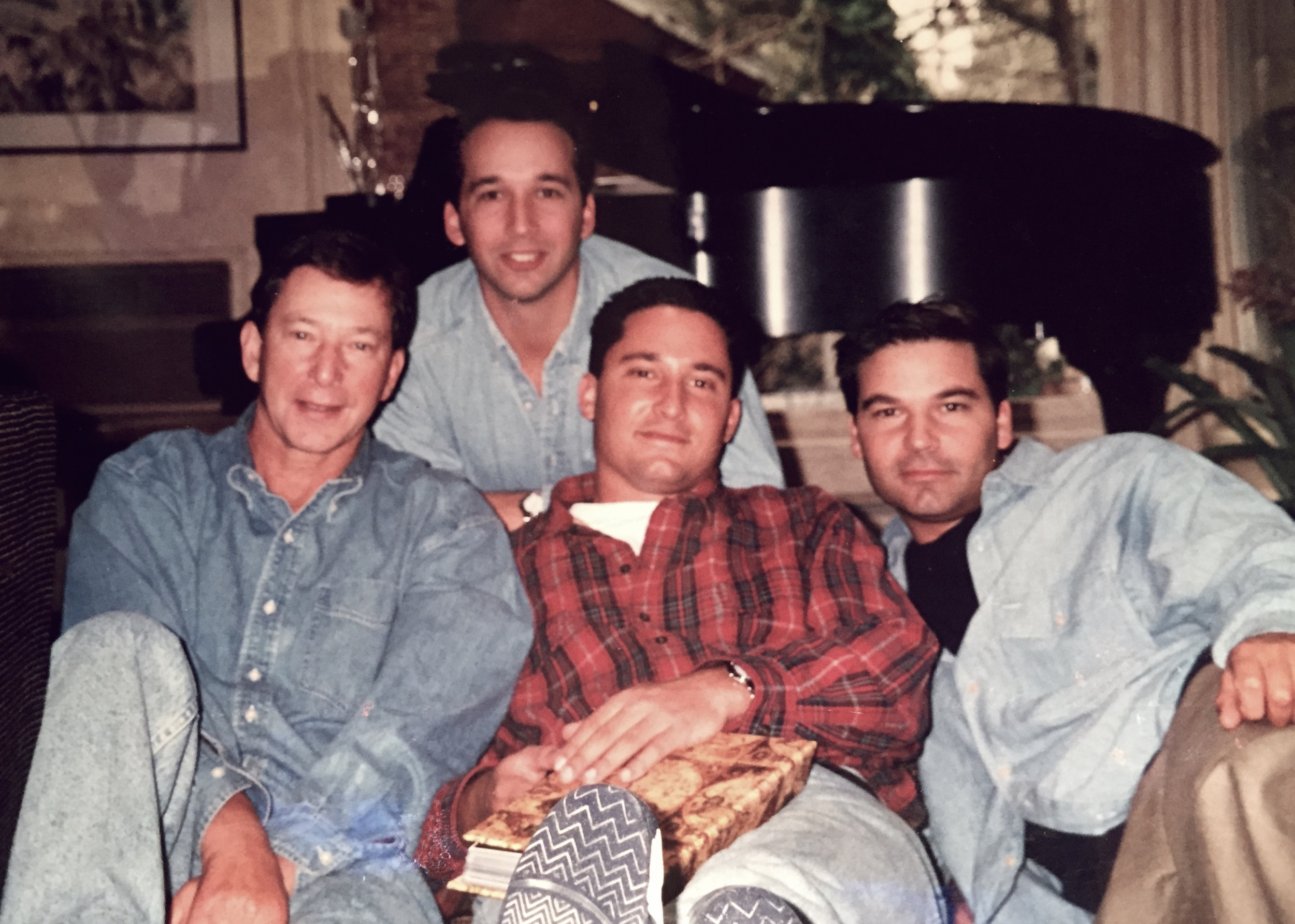 Favorite Photo: Jerry & Our 3 Sons